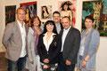 Martin Reichenauer (ATV), Martina Maria Gräff, Georgia Kazantzidu, Matthias Laurenz Gräff, Gerald Steindl und Regina Waldum. Foto - Martin Kalchhauser, NÖN Horn