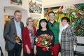 NR a. D. Werner Groiß, Karin Hauer (Direktorin der ASO Horn), Georgia Kazantzidu, Matthias Laurenz Gräff, Vizebürgermeisterin Pauline Uitz. (DI Gerhard Baumrucker, NÖN)