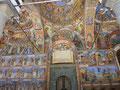 リラ僧院聖堂の中