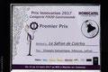 2017 Prix de l'innovation pour notre vinaigre balsamique ,hibiscus et safran de cotchia.