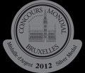 Médaille d'argent sur le concours mondial des liqueurs en 2012 au Portugal avec notre Poire safranée.