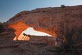 mesa arch bei sonnenaufgang