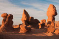 goblin valley state park beim sonnenaufgang