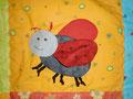 Käfer mit Knisterflügel