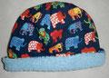 Mütze Jersey und Fleece