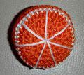 gehäkelte Apfelsine