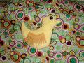 Ente gefüllt mit Styroporkügelchen