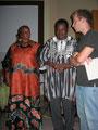 Dr. Ouedraogo, Ehefrau und Dolmetscher