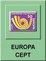 EUROPA - CEPT Marken Übersicht