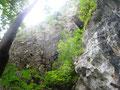 1. Seillänge, zur Höhle, Cepl'sFreiheit