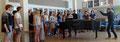 Begeisterte Stockholmer Schülerinnen und Schüler im Musikunterricht. Foto: Ulrichs