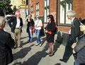 Über Kultur und Geschichte Stockholms informierte sich die Gruppe des Studienseminars bei einer Führung durch die Altstadt. Foto: Ulrichs
