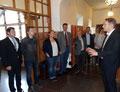 Abteilungsleiter Robert Mellander stellte das Östra Reals Gymnasium vor. Foto: Ulrichs