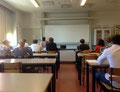 Hospitiert wurde unter anderem im Chemieunterricht, hier am Kungsholmens Gymnasium. Foto: Ulrichs
