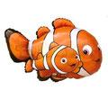 Balon Rybka Nemo duży. Cena z helem 19 zł