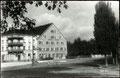 1913, Hotel Ochsen mit Tramfahrleitung