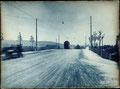 1926, Tram auf der neuen Stadtrainbrücke