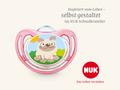 Schnuller Motiv für das NUK Schnulleratelier: Mops - Vorschaubild nach der Bestellung im Online-Shop