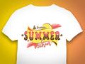 Summer School Retro Logo Design für die Hochschule Bremen