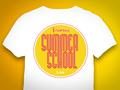 Summer School Vintage Shirt Design für die Hochschule Bremen