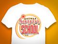 Summer School Retro Shirt Design für die Hochschule Bremen