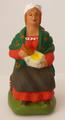 Femme assise à l'aïoli - 8€