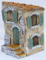 Façade de maison #2 pour santons de fenêtre 7cm - 35€