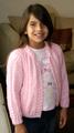 chompa de niña rosada