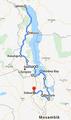 Malawi Tourverlauf...