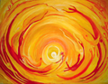 Frühlingserwachen, Öl, 60 x 80 cm