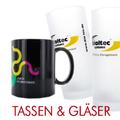 Tassen und Gläser bei ZIMA
