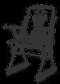 Stuhl des Meisters vom Stuhl (ca. 1800)