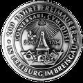 Gedenkmedaille 200 Jahre Freimaurer in Freiburg i. Br. (1984)