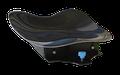 VAJDA Sprintsitz (hinten hochgezogen) Carbon, Kajak Nord