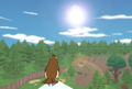 Vista panoramica di Pidgey