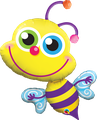 "Beaming Bee 33"" - € 12,90"