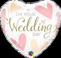 "Wedding Day Heart 18"" - € 5,90"