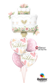 Balloon Bouquet: Wedding Cake & Hearts ca. 1,80m - € 34,90