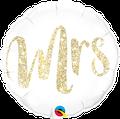 """Mrs. Glitter Gold 18"""" - € 5,90"""