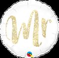 "Mr. Glitter Gold 18"" - € 5,90"