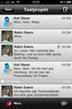 Das Kommunikations-Tool auf dem iPhone