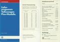 (0013) Interne Preis & Ausstattungsbroschüre - Stand: 06.03.1987 - 82 Seiten - 80 x 172 mm