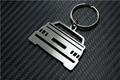 Schlüssel-Anhänger, Edelstahl