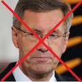 """Christian Wulff  (war einst Bundespräsident, Namensgeber für """"wulffen"""")"""