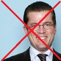 K.T. zu Guttenberg (war einst Verteidigungsminister, bis er wegen Betrugs flog)