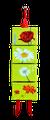 Mini-toiles Fleurs des champs