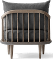 Bois: chêne fumé huilé / Tissu: Hot Madison 093