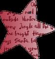 Geschenkanhänger - Weihnachten