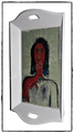 Shabby Chci Tablett XL mit Malerei