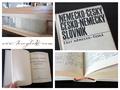 Ursprüngliche Form des Buchblockes hergestellt - neue Verbindung von Einband und Buchblock -  Nach der Trocknungsphase ist der treue Begleiter wieder diensttauglich und mühelos handhabbar.